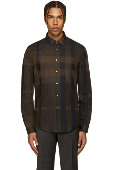 Burberry - Brown Southbrook Shirt
