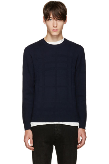 Burberry - Navy Turners Sweater