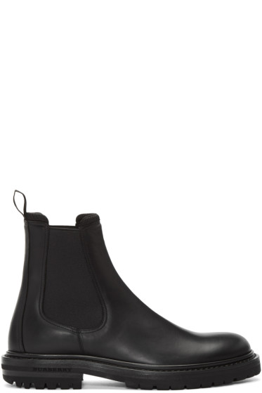 Burberry - Black Farnell Chelsea Boots
