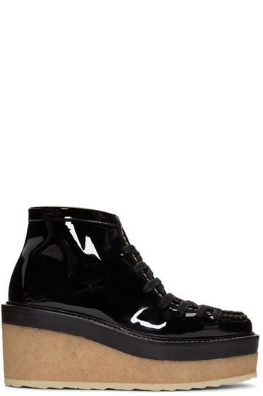 Pierre Hardy - Black Trapper Ankle Boots