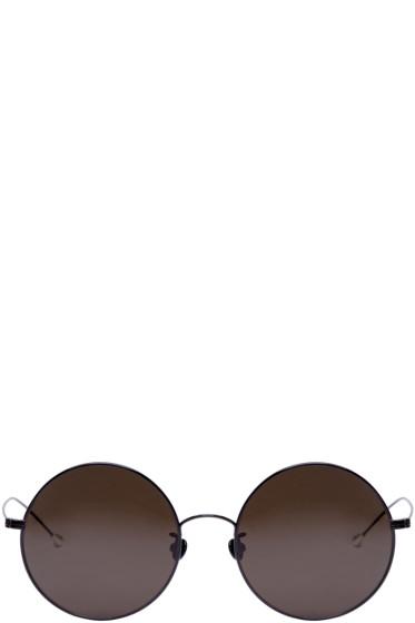 Ann Demeulemeester - Black Round 27 C1 Sunglasses