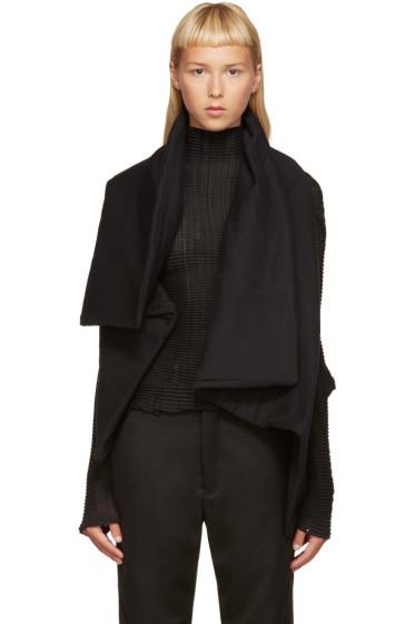 Ann Demeulemeester - Black Lucian Vest