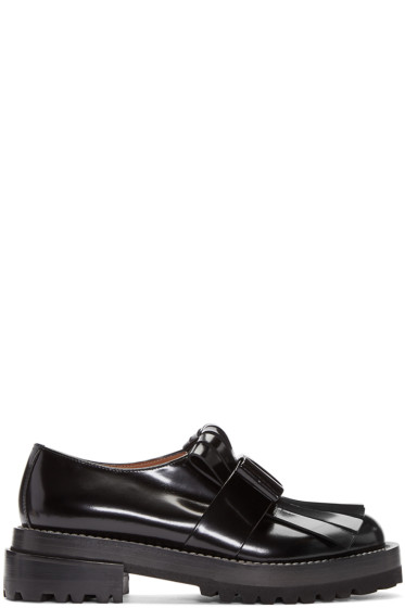 Marni - Black Fringed Loafers