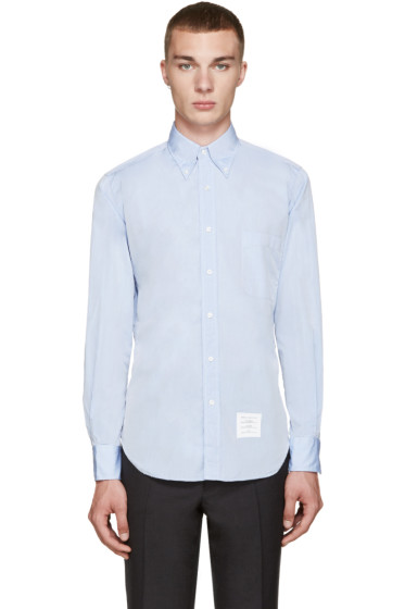 Thom Browne - Blue Classic Oxford  Shirt