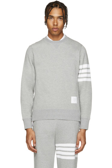 Thom Browne - Grey Classic Pullover