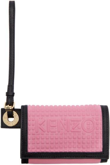 Kenzo - Pink Kombo Wallet