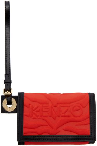 Kenzo - Red Kombo Wallet
