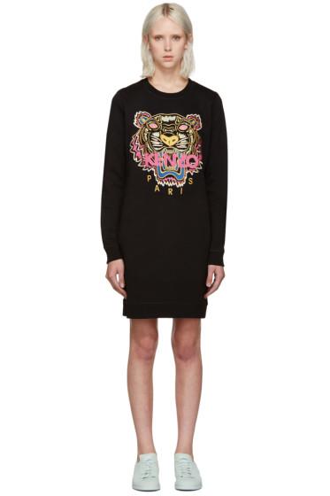 Kenzo - Black Tiger Pullover Dress