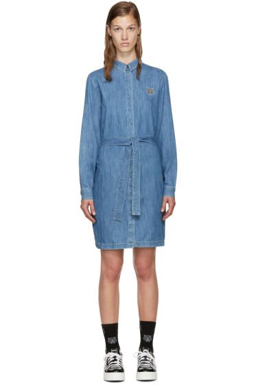 Kenzo - Blue Denim Shirt Dress