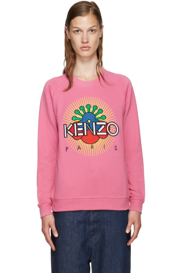 Kenzo - Pink Tanami Flower Pullover