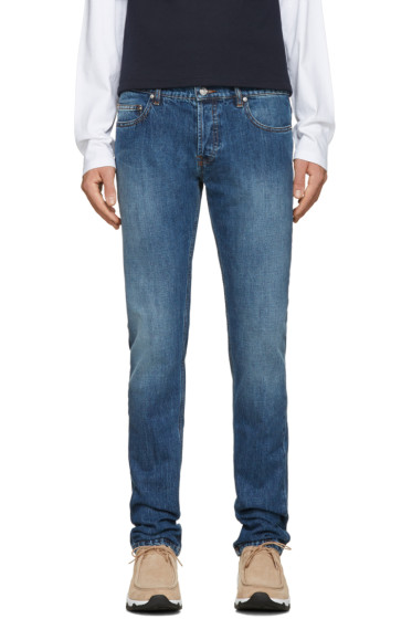 Kenzo - Navy Stone Washed Jeans
