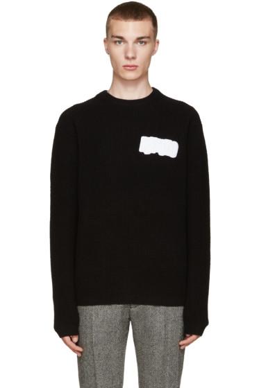 Kenzo - Black Wool Logo Sweater