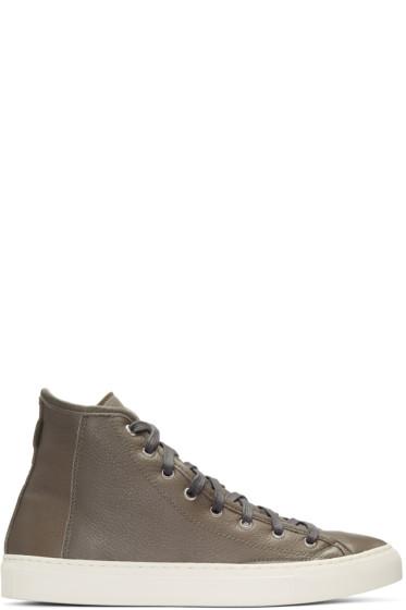 Diemme - Grey Veneto Alto High-Top Sneakers