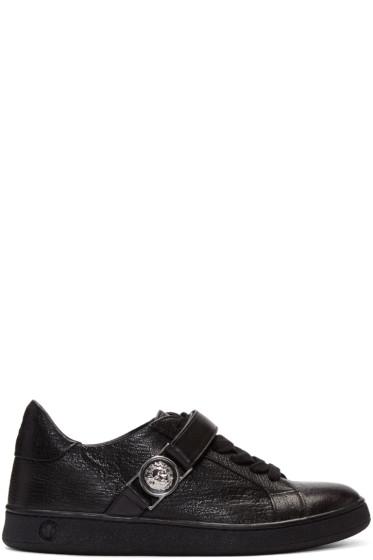 Versus - Black Lion Medallion Sneakers