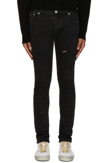 Versus - Black Distressed Jeans