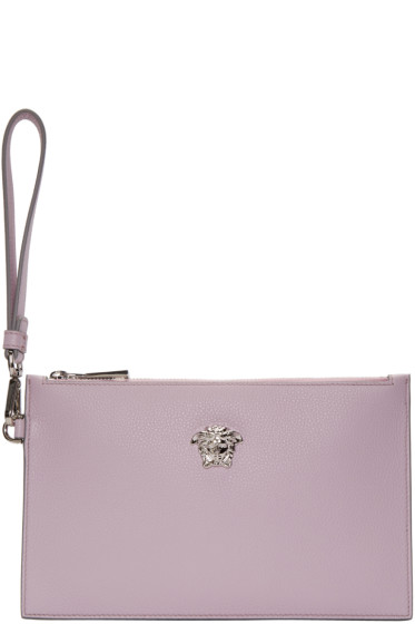 Versace - Pink Small Medusa Zip Pouch