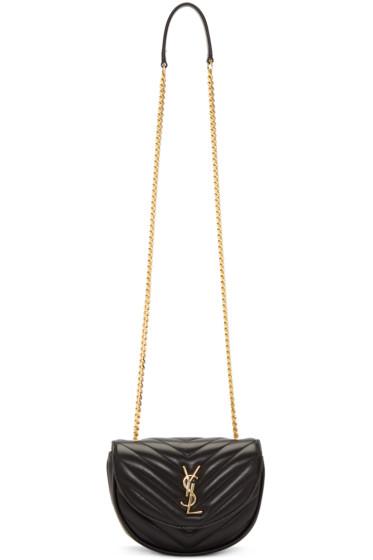 Saint Laurent - Black Classic Baby Monogram Chain Bag