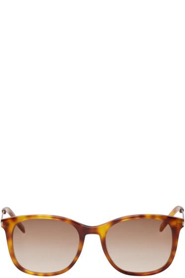 Saint Laurent - Tortoiseshell SL 111 Sunglasses