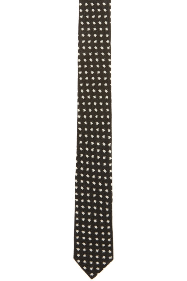 Saint Laurent - Black Star Tie