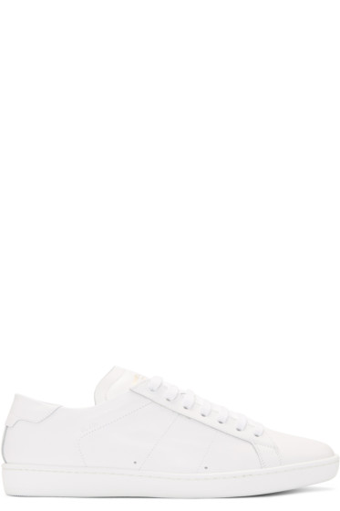 Saint Laurent - Off-White Court Classic Sneakers