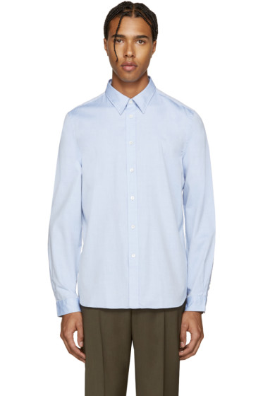 PS by Paul Smith - Blue Poplin Pocket Shirt