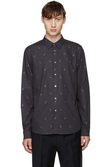 PS by Paul Smith - Grey Giraffe Shirt