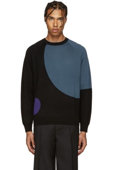 PS by Paul Smith - Black Merino Wool Sweater