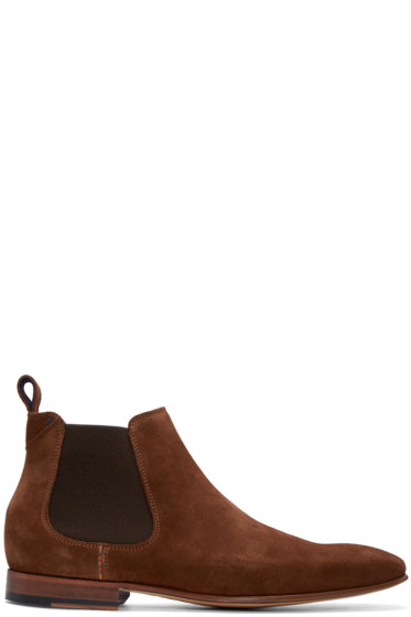 PS by Paul Smith - Brown Falcone Chelsea Boots