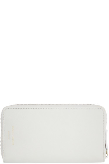 Woman by Common Projects - Off-White Large Zipper Wallet