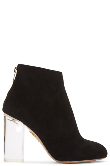 Charlotte Olympia - Black Alba Ankle Boots