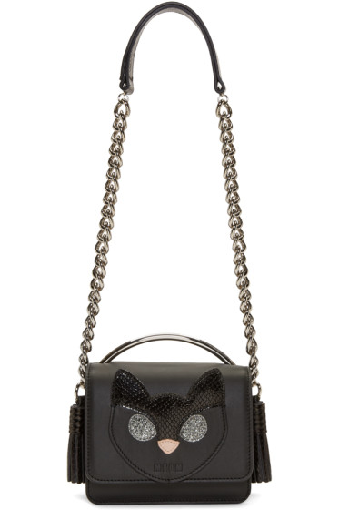 MSGM - Black Cat Shoulder Bag