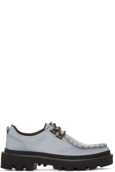 MSGM - Grey MS Crepe Shoes