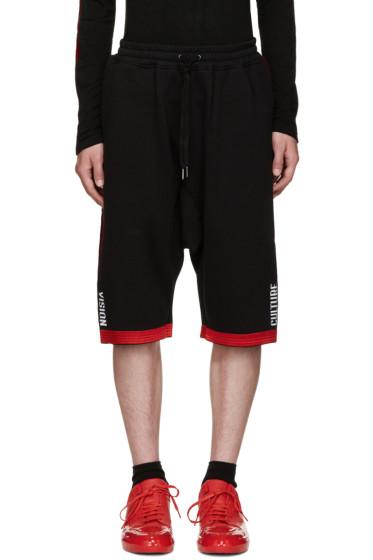 KTZ - Black Side Stripe Shorts