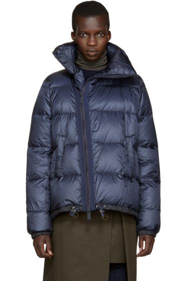 Sacai - Navy Trapeze Down Jacket