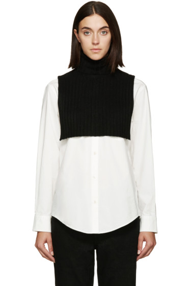 6397 - Black Turtleneck Collar