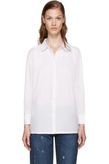 Frame Denim - White Le Oversized Shirt