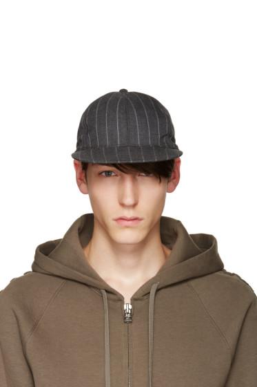 Nanamica - Grey Pinstripe Cap