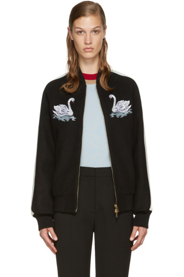 Stella McCartney - Black Swan Lorinda Bomber Jacket