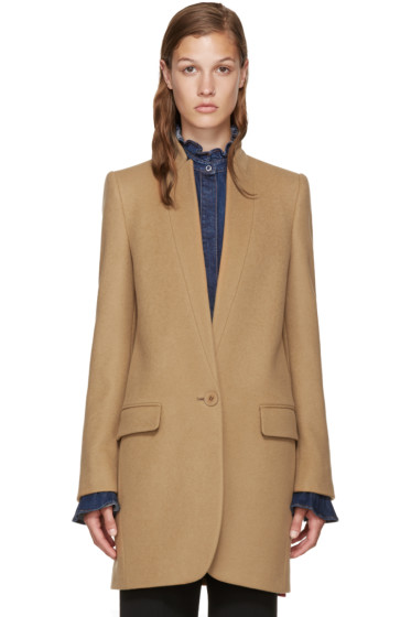 Stella McCartney - Camel Bryce Coat