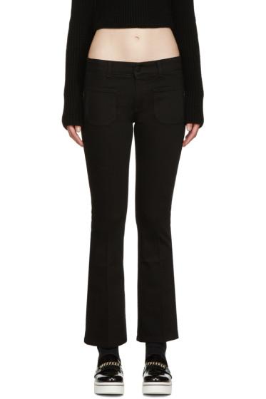 Stella McCartney - Black Skinny Kick Jeans