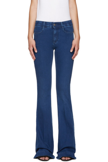 Stella McCartney - Blue Flared The 70's Jeans