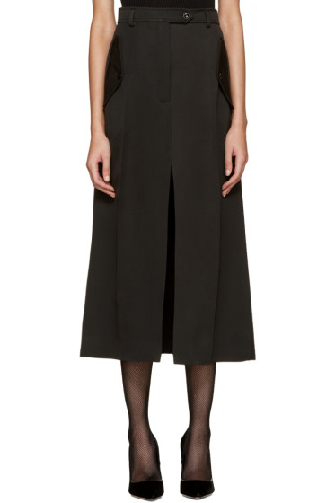 Nina Ricci - Black Wool Skirt