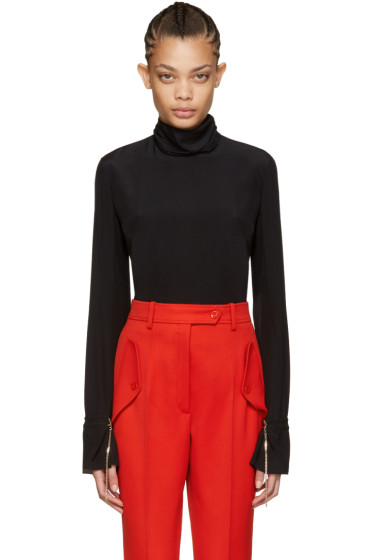 Nina Ricci - Black Silk Blouse