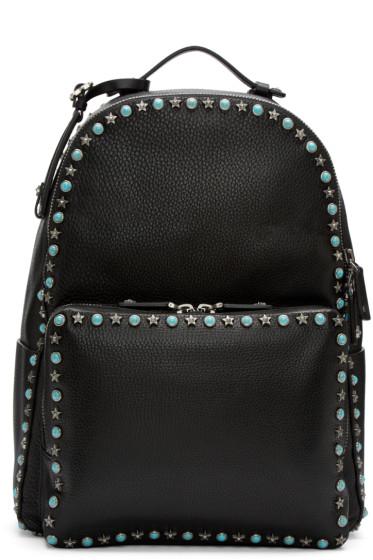 Valentino - Black Stone & Stars Backpack