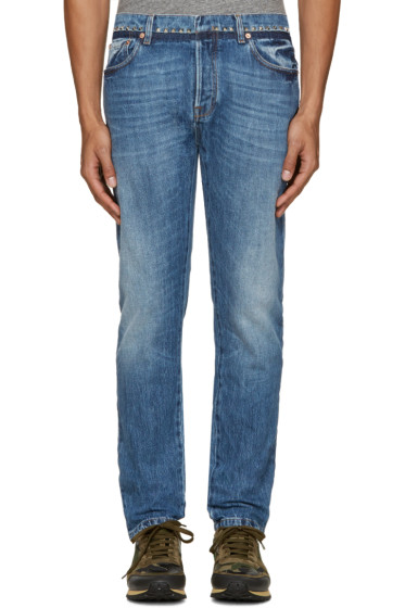 Valentino - Indigo Studded Jeans