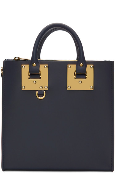 Sophie Hulme - Navy Square Albion Tote