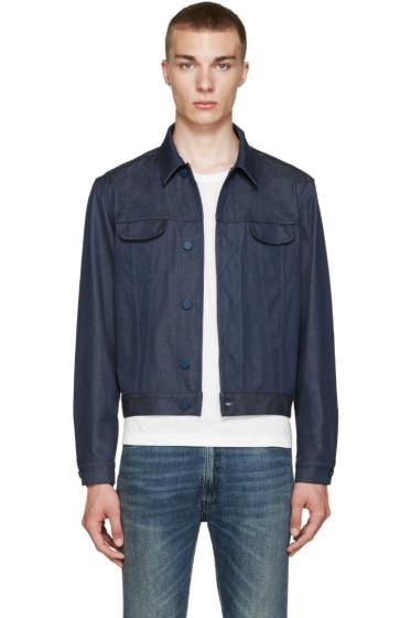 Calvin Klein Collection - Blue Telford Jacket