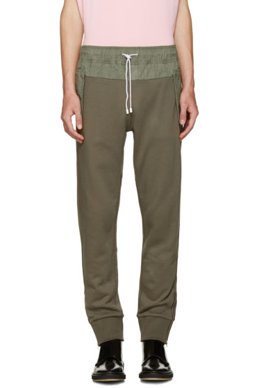 Tim Coppens - Green French Terry Lounge Pants