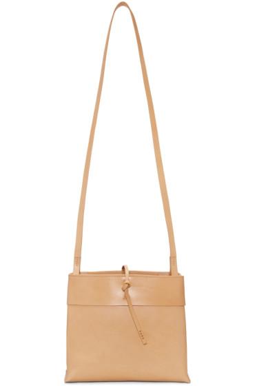 Kara - Beige Tie Bag