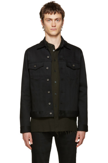 Naked & Famous Denim - Black Power Stretch Denim Jacket